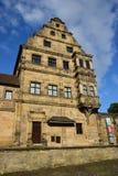 Alte Hofhaltung a Bamberga, Germania Fotografia Stock
