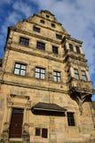 Alte Hofhaltung a Bamberga, Germania Fotografie Stock Libere da Diritti