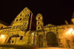 Alte Hofhaltung a Bamberga, Germania Immagine Stock Libera da Diritti