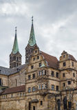 Alte Hofhaltung & x28; Stary Court& x29; , Bamberg, Niemcy Zdjęcia Stock