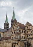 Alte Hofhaltung & x28; Vecchio Court& x29; , Bamberga, Germania Fotografie Stock
