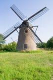 Alte holländische Windmühle Stockfotografie