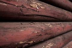 Alte Holzbalken Stockbild