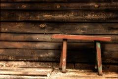 Alte Holzbank Lizenzfreie Stockfotos