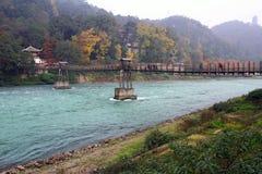 Alte Holzbrücke Lizenzfreie Stockbilder