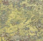 Alte Holzoberfläche mit abgezogener Farbe, unterschiedliche Farbfarbe auf Weinlese Brett Lizenzfreie Stockfotos