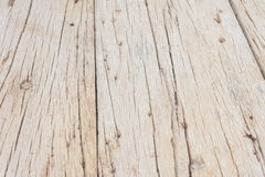 Alte Holzoberfläche mit Sprüngen Stockbild