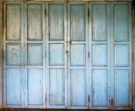 Alte Holztüren lizenzfreies stockbild