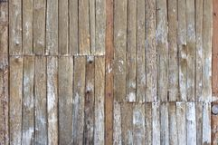 Alte Holzverkleidungen Lizenzfreies Stockbild