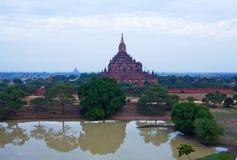 Alte Htilominlo-Pagode in archäologischer Zone Bagan, Myanmar Lizenzfreies Stockbild