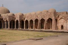 Alte indische Moschee Stockfotos