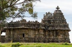Alte indische Skulpturen vom 12. Jahrhundert Stockfoto
