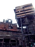 Alte Industriebauten Stockfotografie