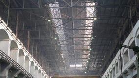 Alte industrielle Metallbauten stock video