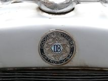 Alte Insignien eines Dodge-Bruderautos, Lima Stockbilder