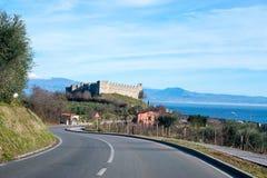 Alte Italien-Straßen, desenzzano. Stockbild