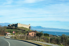 Alte Italien-Straßen, desenzzano. Lizenzfreie Stockbilder
