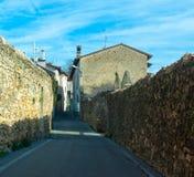 Alte Italien-Straßen, desenzzano. Stockfotos
