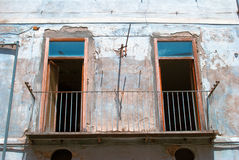 Alte italienische Balkone Lizenzfreie Stockfotos