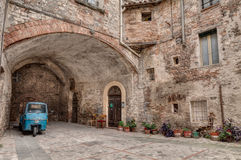 Alte italienische Gasse Stockbild