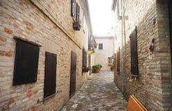 Alte italienische Straße Lizenzfreies Stockbild