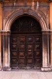 Alte italienische Tür. Lizenzfreie Stockbilder