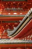 Alte japanische Architektur ausführlich stockbild