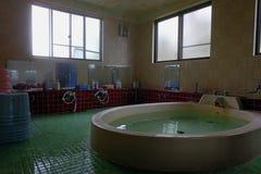 Alte Japanische Badezimmerart Stockbild