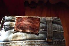 Alte Jeans Lizenzfreie Stockfotos