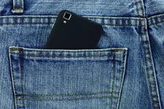 Alte Jeans setzten Ihre Gesäßtasche Lizenzfreies Stockbild