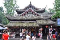 Alte Jinli Straße, Chengdu Stockbilder