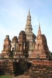 Alte königliche Stadt in Thailand Stockbild