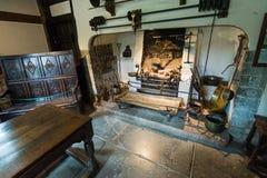 Alte Küche Stockfoto