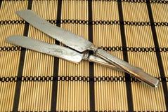 Alte Küche knifes Lizenzfreie Stockfotografie
