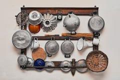 Alte Küchegeräte Lizenzfreies Stockbild