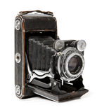 Alte Kamera. Lizenzfreie Stockfotografie