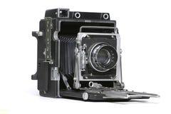 Alte Kamera des Film-4x5 Stockfotos