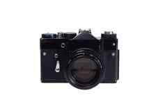 Alte Kamera des Schwarzen 35mm SLR Lizenzfreie Stockbilder