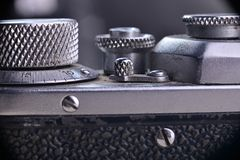 Alte Kamera Foto im Studio Lizenzfreies Stockfoto