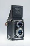 Alte Kamera geöffnet Lizenzfreie Stockfotografie