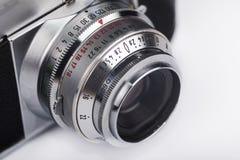 Alte Kamera-Nahaufnahme Lizenzfreie Stockfotografie