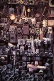 Alte Kameras Lizenzfreie Stockbilder