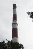 Alte Kamine Schlesien Stockfoto