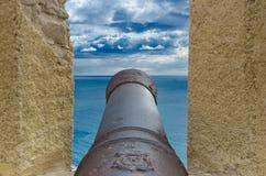 Alte Kanone Stockbilder