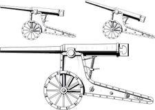 Alte Kanone lizenzfreie abbildung