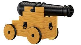 Alte Kanone, Stockfoto