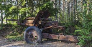 Alte Kanone Stockbild