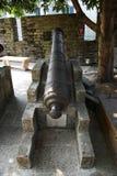 Alte Kanone im chinesischen Museum im Freien Lizenzfreie Stockbilder