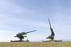 Alte Kanonen Lizenzfreies Stockbild