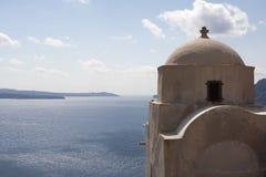 Alte Kapelle über Meer Lizenzfreies Stockfoto